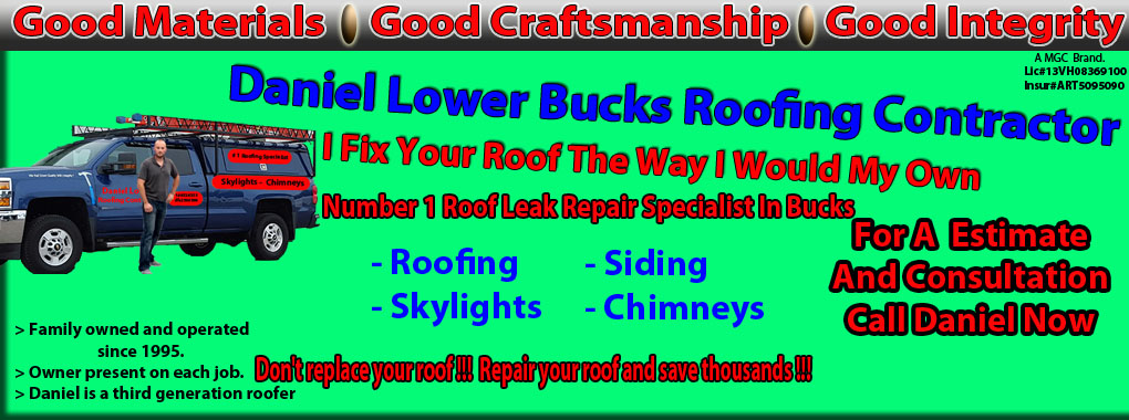 Professional roofing repair specialist  Serving Bucks County